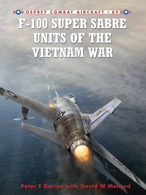 cover image of F-100 Super Sabre Units of the Vietnam War