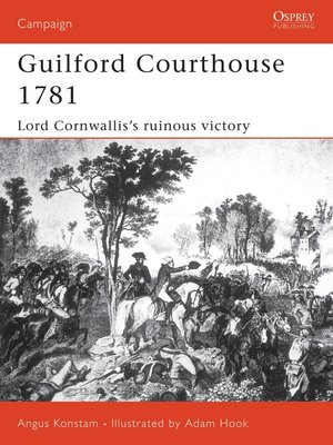 cover image of Guilford Courthouse 1781
