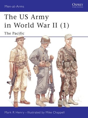 cover image of The US Army in World War II (1)