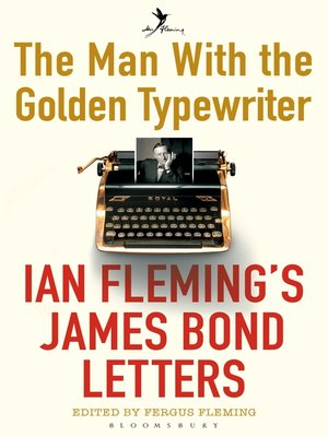 cover image of The Man with the Golden Typewriter