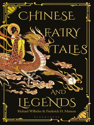 cover image of Chinese Fairy Tales and Legends