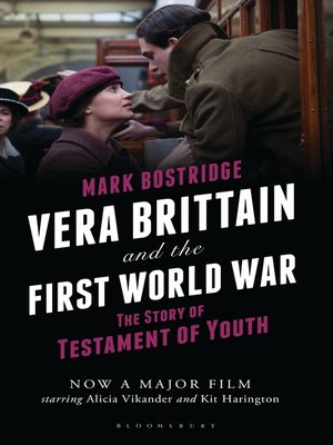 cover image of Vera Brittain and the First World War