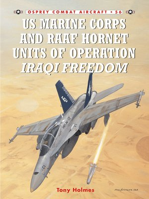 cover image of US Marine Corps and RAAF Hornet Units of Operation Iraqi Freedom