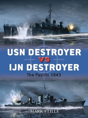 cover image of USN Destroyer vs IJN Destroyer