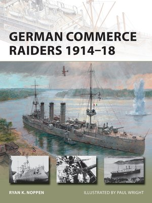cover image of German Commerce Raiders 1914–18