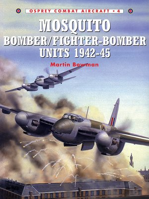 cover image of Mosquito Bomber/Fighter-Bomber Units 1942–45