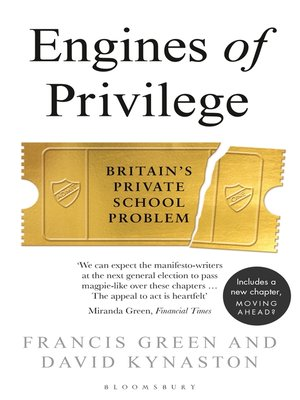 cover image of Engines of Privilege