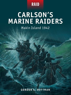 cover image of Carlson's Marine Raiders