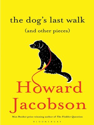 cover image of The Dog's Last Walk
