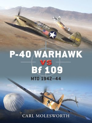 cover image of P-40 Warhawk vs Bf 109
