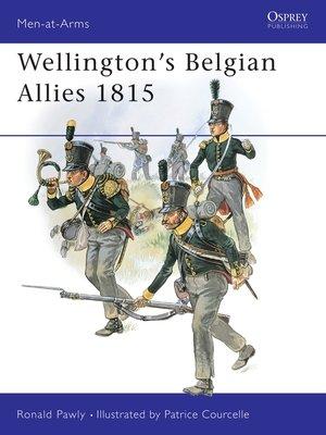 cover image of Wellington's Belgian Allies 1815