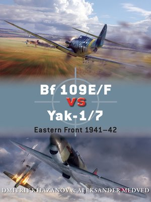 cover image of Bf 109E/F vs Yak-1/7