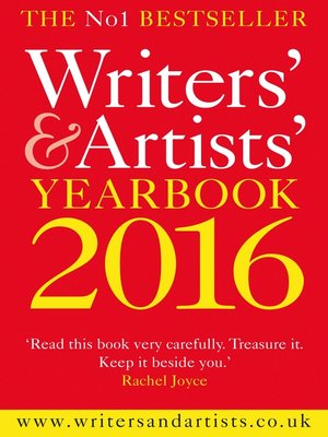 cover image of Writers' and Artists' Yearbook 2016