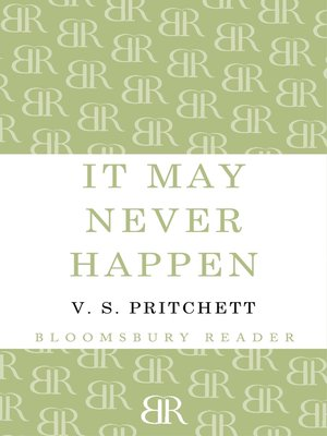 cover image of It May Never Happen
