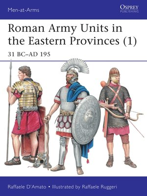 cover image of Roman Army Units in the Eastern Provinces (1)