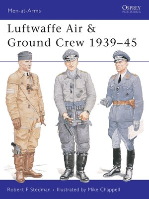 cover image of Luftwaffe Air & Ground Crew 1939–45