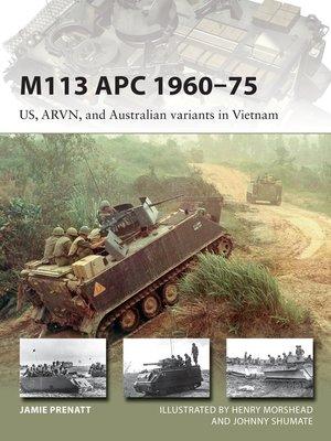 cover image of M113 APC 1960–75