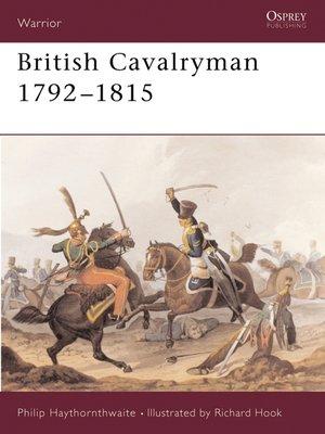 cover image of British Cavalryman 1792–1815