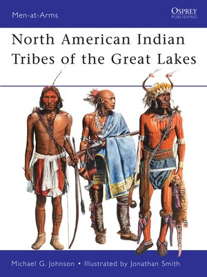 cover image of North American Indian Tribes of the Great Lakes