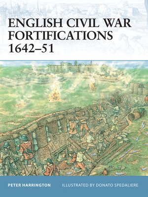 cover image of English Civil War Fortifications 1642-51