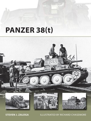 cover image of Panzer 38(t)
