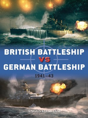cover image of British Battleship vs German Battleship
