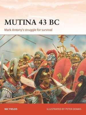 cover image of Mutina 43 BC
