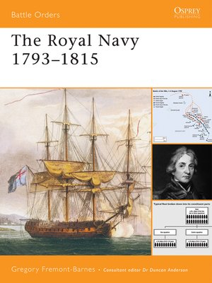 cover image of The Royal Navy 1793-1815