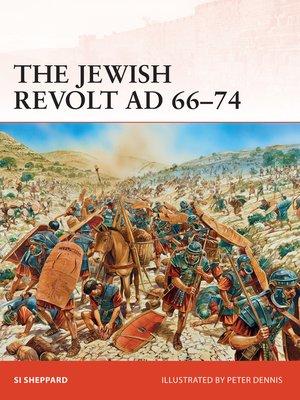 cover image of The Jewish Revolt AD 66-74