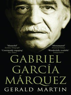 cover image of Gabriel Garcia Marquez