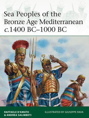 cover image of Sea Peoples of the Bronze Age Mediterranean c.1400 BC-1000 BC