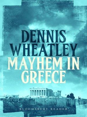 cover image of Mayhem in Greece