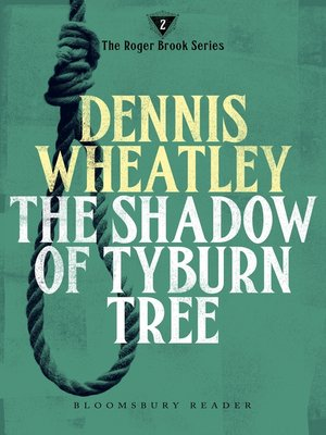 cover image of The Shadow of Tyburn Tree