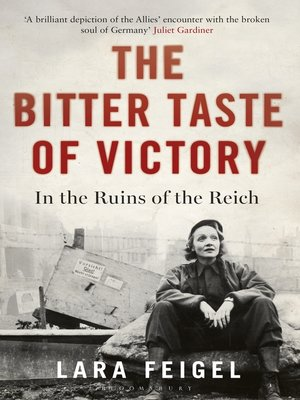 cover image of The Bitter Taste of Victory