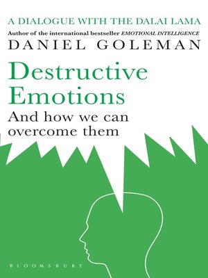 cover image of Destructive Emotions