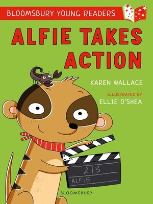 cover image of Alfie Takes Action