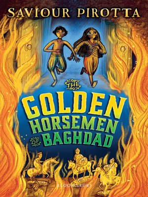 cover image of The Golden Horsemen of Baghdad