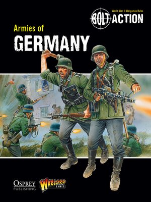 cover image of Armies of Germany