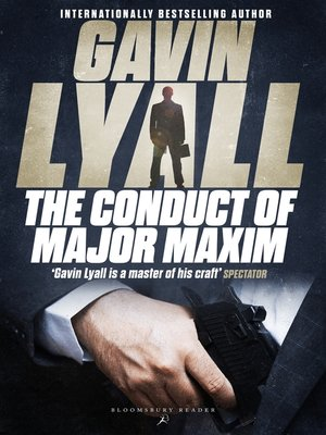 cover image of The Conduct of Major Maxim