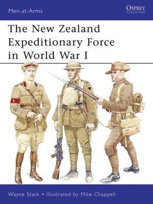 cover image of The New Zealand Expeditionary Force in World War I