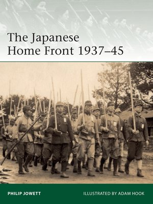 cover image of The Japanese Home Front 1937–45