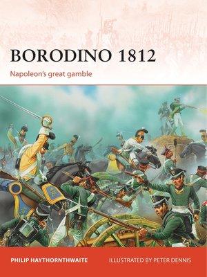 cover image of Borodino 1812
