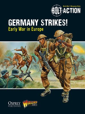 cover image of Germany Strikes!: Early War in Europe