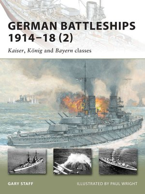 cover image of German Battleships 1914–18 (2)