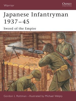 cover image of Japanese Infantryman 1937-45