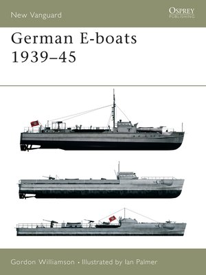 cover image of German E-boats 1939-45