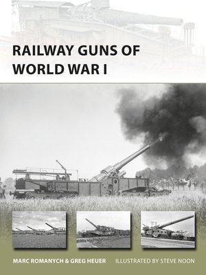 cover image of Railway Guns of World War I