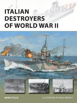 cover image of Italian Destroyers of World War II