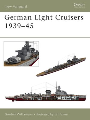 cover image of German Light Cruisers 1939-45