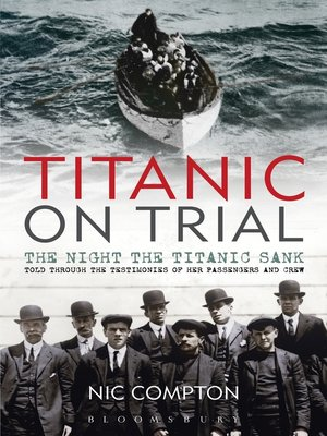 cover image of Titanic on Trial